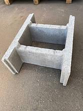Блок опалубочный 190х390х500