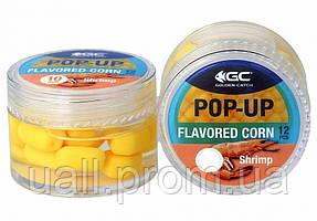 Штучна кукурудза GC в діпі Pop-Up Flavored 8мм(12шт) Shrimp (Криветка)