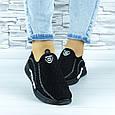 Кросівки жіночі чорні сіточка (b-692), фото 2