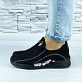 Кросівки жіночі чорні сіточка (b-692), фото 6
