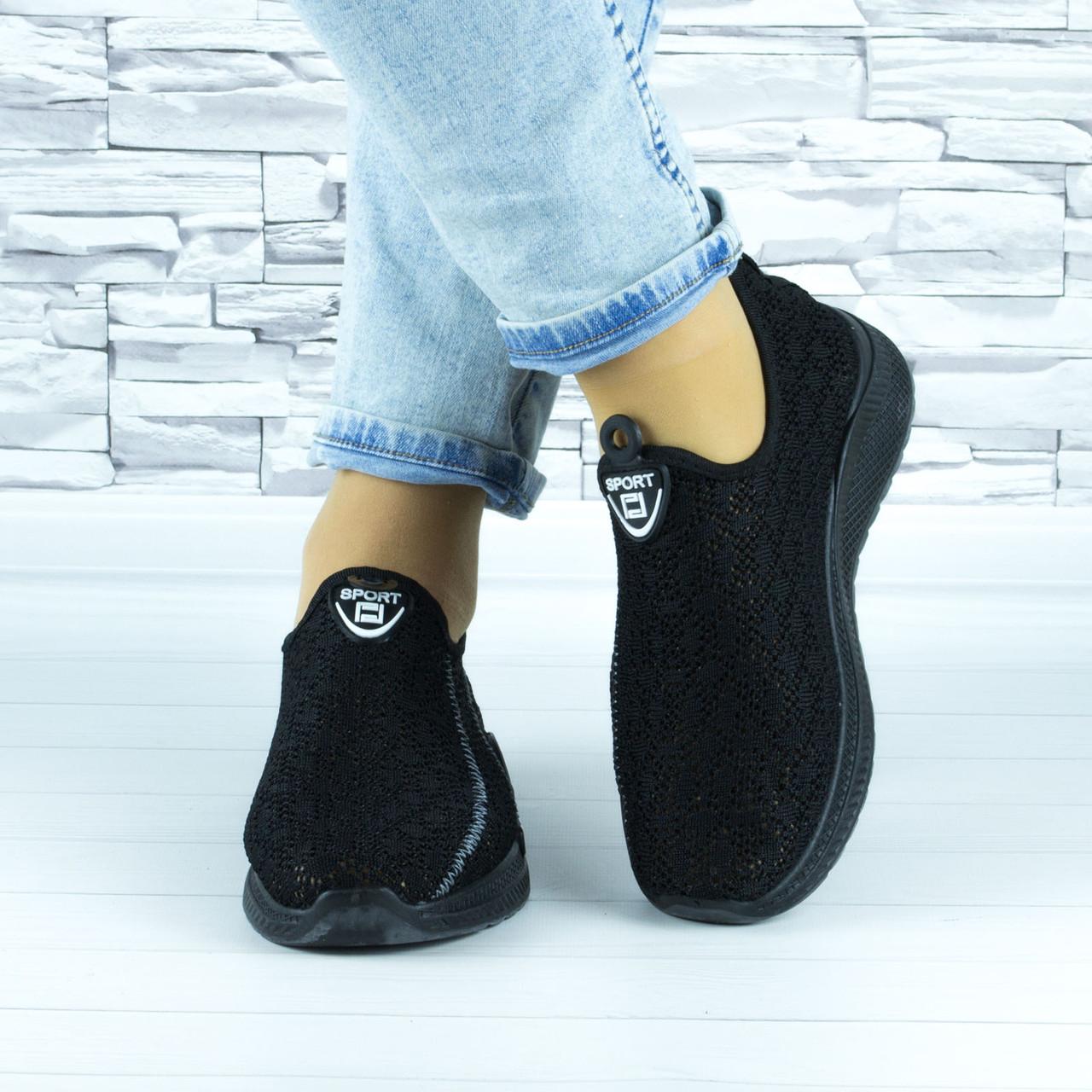 Кросівки жіночі чорні сіточка (b-692)