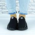 Кросівки жіночі чорні сіточка (b-692), фото 7