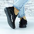 Кросівки жіночі чорні сіточка (b-692), фото 8