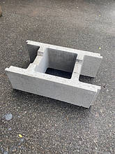 Бетонный блок опалубка 190х290х500