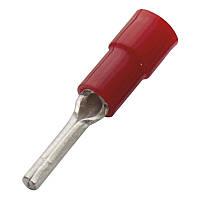 Кабельний наконечник (0.5-1.0 мм) круглий штифт з ізоляцією (100 шт) (Haupa) 260371