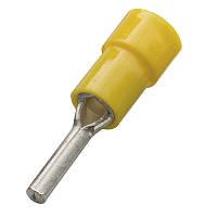Кабельний наконечник (4.0-6.0 мм) круглий штифт з ізоляцією (100 шт) (Haupa) 260374