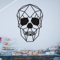 Объемная картина из дерева DecArt Skull
