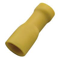 Кабельний наконечник (4.0-6.0 мм) плоский штепсель (мама) з ізоляцією (100 шт) (Haupa) 260418