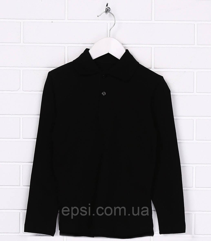 Поло для мальчика Malta SS18ДМ417-43 152 см  Черное (2901000152080)