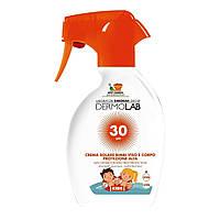 Крем сонцезахисний дитячий, спрей Deborah Milano Dermolab Sun cream for kids SPF 30, 009567, 250 мл