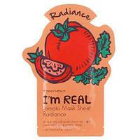 Листовая маска для лица томатная Tony Moly I'm Real Tomato Mask Sheet 21 мл