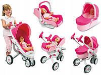 Коляска трансформер для куклы 4 в 1 Maxi Cosi Quinny Smoby 550389