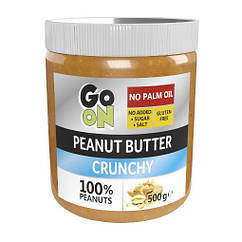 Арахисовая паста GoOn Nutrition Peanut Butter 500 грамм Crunch