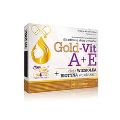 Витамин А и Е Olimp Gold-Vit A+E 30 капсул