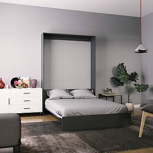 Кровать-трансформер Mitra 140*200 см графит ТМ ARTinHEAD