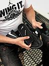 Мужские тапочки Nike Black White, фото 3