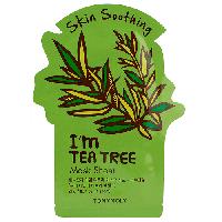 Листовая маска для лица против акне, угрей и прыщей Tony Moly I m Real Tea Tree Mask Sheet