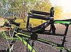 Детское велокресло на раму Black TOYO-006