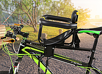 Детское велокресло на раму Black TOYO-006, фото 1