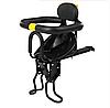 Детское велокресло на раму Черное NC-006