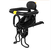 Детское велокресло на раму Черное NC-006, фото 1