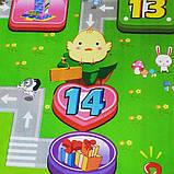Дитячий килимок двосторонній розвиває букви цифри 120х180 термокилимок для дітей Ігровий мат, фото 4