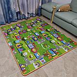Дитячий килимок двосторонній розвиває букви цифри 120х180 термокилимок для дітей Ігровий мат, фото 6