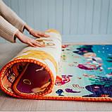 Дитячий килимок двосторонній розвиває букви цифри 120х180 термокилимок для дітей Ігровий мат, фото 10