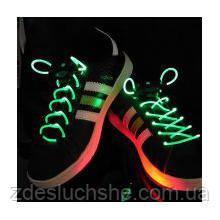 Світяться шнурки KS Disco Green SKL25-150692