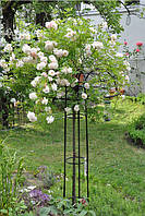 Опора садовая для вьющихся растений Зонтик 200х80 см порошок зеленый