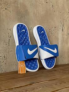 Мужские тапочки Nike Blue White 42