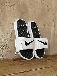 Чоловічі тапочки Nike White Black