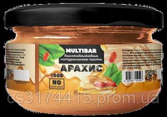 Высокобелковая натуральная паста MULTIBAR Арахис (190 грамм)