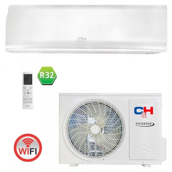 Кондиціонер тепловий насос Cooper&Hunter CH-S18FTXN-PW R32 Wi-Fi