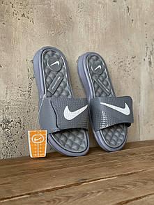Мужские тапочки Nike Grey