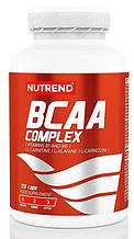 Амінокислотний комплекс Nutrend BCAA COMPLEX 120 caps (L-карнітин, L-карнозин, L-аланін)
