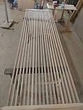 Дерев'яні рейкові панелі. рейкові перегородки. Декоративні рейки Дерев'яні панелі, фото 10