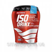 Ізотонічний напій з кофеїном Nutrend ISODRINX 420 g блакитна малина