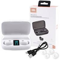 Беспроводные вакуумные наушники Jbl TWS-BT011, Сенсорная Bluеtооth гарнитура с микрофоном для телефона USB