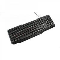 Клавиатура Maxxter KB-211-U UKR/RUS Black USB