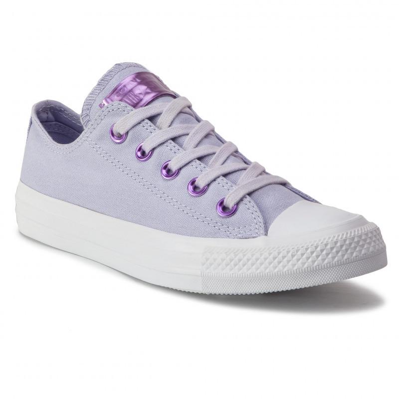 Кеди жіночі Converse CTAS OX фіолетові 163284C
