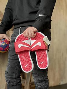 Мужские тапочки Nike Red