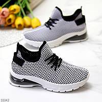 Ультра модные текстильные светлые черные женские кроссовки 2021