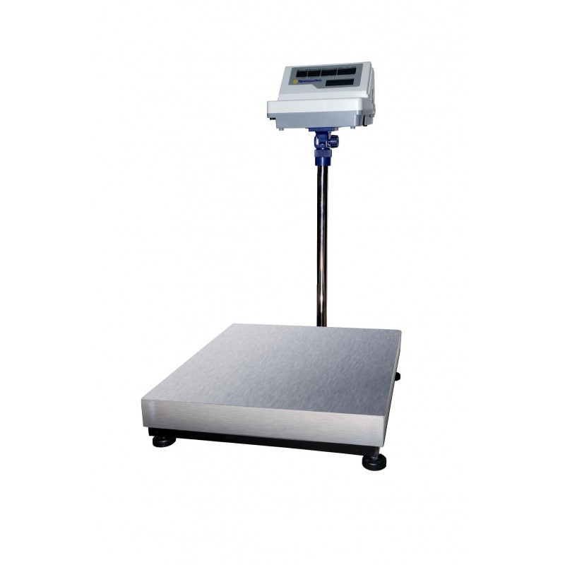 Весы напольные с печатью этикетки (150/300 кг) – ВТНЕ-ПРИНТ-Т