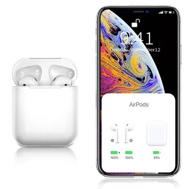 Беспроводные сенсорные наушники Tws i11 Гарнитура с микрофоном для смартфона, люкс копия airpods bluetooth 5 0