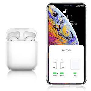Бездротові сенсорні навушники Tws i11 Гарнітура з мікрофоном для смартфона, люкс копія airpods bluetooth 5 0