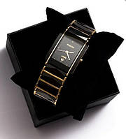 Наручные мужские часы Rado Jubife черные, от батареек, часы наручные, мужские часы