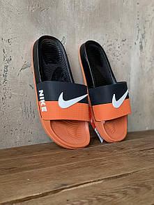 Мужские тапочки Nike Orange Black