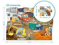Пазлы Dodo 300373,30 дет.,20х27см,пазлы на стройплощадке Dodo 300373, фото 1
