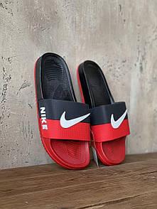 Мужские тапочки Nike Red Black